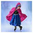 大ヒット映画  アナ雪 アナ 子供用 限定コスチューム レプリカ 女の子 コスプレ ワンピース ドレス 衣装 ハロウィン 仮装 キッズサイズ 子供服