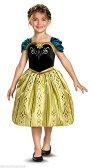 【在庫処分セール】アナと雪の女王 アナ ドレス ハロウィン コスチューム コスプレ 衣装 ワンピース 子供用 女の子