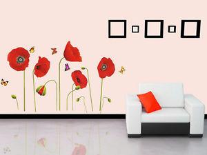 ウォールデコ ウォールステッカー インテリア 壁 シール Decor DIY Art ルームステッカー リムーバル Paper Mural Butterfly フラワー お花