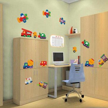 ホームデコレーション Decorative デカール Mural ウォールデコ ウォールステッカー インテリア 壁 シール リムーバル Cars Plane Kids Bedroom