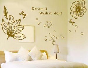 New リムーバル ウォールデコ ウォールステッカー インテリア 壁 シール ホームデコレーション Art デカール Mural Room DIY Paper フラワー お花