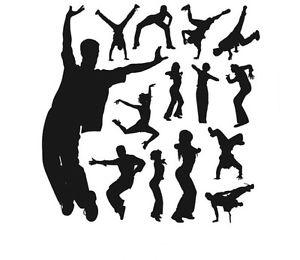 New リムーバル ウォールデコ ウォールステッカー インテリア 壁 シール ホームデコレーション デカール Mural Room Paper Art Black Hip-hop