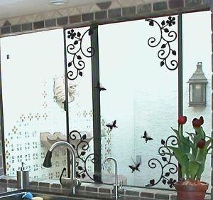 リムーバル ウォールデコ ウォールステッカー インテリア 壁 シール ホームデコレーション Art デカール Mural Room DIY Paper フラワー お花 Lace