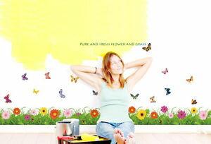 壁紙・装飾フィルム, ウォールステッカー・シール Grass Paper Mural Garden
