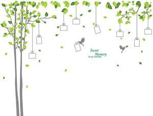 ウォールデコ ウォールステッカー インテリア 壁 シール Art リムーバル Home デカール Mural DIY Stickers Paper 木 Photo Frame