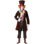 Electric Mad Hatter マッドハッター 大人用 アリスインワンダーランド 不思議の国のアリス Std/プラスサイズ 大きいサイズ ハロウィン コスチューム コスプレ 衣装 変装 仮装