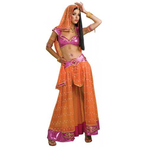 Belly Dancer 大人用 レディス 女性用 セクシー インディアン Bollywood クリスマス ハロウィン コスチューム コスプレ 衣装 変装 仮装