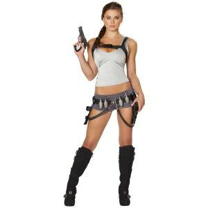 Lara Croft 大人用 セクシー Tomb Raider クリスマス ハロウィン コスチューム コスプレ 衣装 変装 仮装