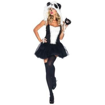 Panda 大人用 レディス 女性用 セクシー クマ 熊 ハロウィン コスチューム コスプレ 衣装 変装 仮装