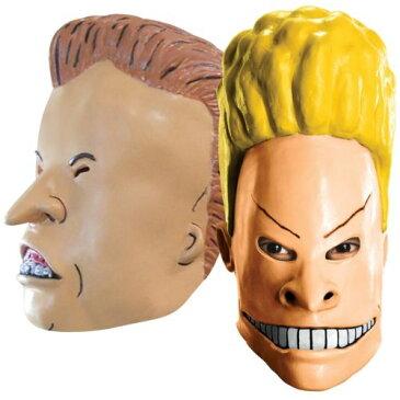 Beavis & Butthead Masks 大人用 男性用 メンズ おもしろい アクセサリー ハロウィン コスチューム コスプレ 衣装 変装 仮装
