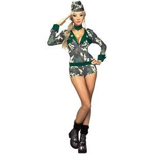 アーミー ガール 大人用 セクシー ミリタリー 軍隊 女神 Soldier ハロウィン コスチューム コスプレ 衣装 変装 仮装