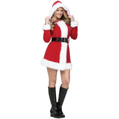 Mrs Claus Costume Sexy Santa Outfit for Women Adult Christmas Fancy DressMrs Clausセクシ...