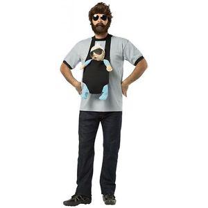 Alan 大人用 男性用 メンズ The Hangover おもしろい ハロウィン コスチューム コスプレ 衣装 変装 仮装