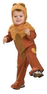 Cowardly ライオン オズの魔法使い Cute ドレスアップ ベイビー Infant 子供用 ハロウィン コスチューム コスプレ 衣装 変装 仮装