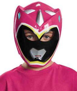 【1日限定 全品ポイント10倍】Pink Ranger マスク Power Ranger パワーレンジャー Dino Charge 子供用 アクセサリー クリスマス ハロウィン コスチューム コスプレ 衣装 変装 仮装