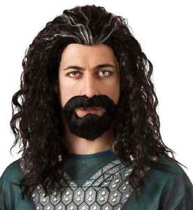 Thorin Oakenshield Wig & クマ 熊d Set Hobbit ホビットLord Rings アクセサリー クリスマス ハロウィン コスチューム コスプレ 衣装 変装 仮装画像
