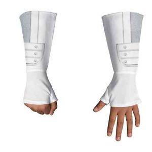《9日20時〜P2倍 お得クーポン有 》Storm Shadow Gloves G.I. Joe 忍者 ニンジャ ホワイト 子供用 アクセサリー クリスマス ハロウィン コスチューム コスプレ 衣装 変装 仮装画像