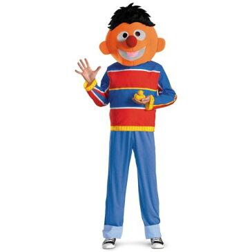 ErnieBert's Buddy Funny 大人用/Teen Sesame Street セサメストリート ハロウィン コスチューム コスプレ 衣装 変装 仮装