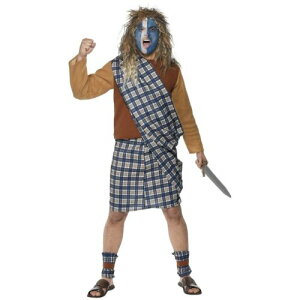Braveheart 大人用 William Wallace クリスマス ハロウィン コスチューム コスプレ 衣装 変装 仮装