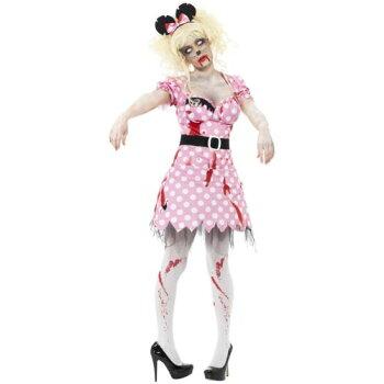ゾンビ幽霊お化けRodent大人用ハロウィンコスチュームコスプレ衣装変装仮装