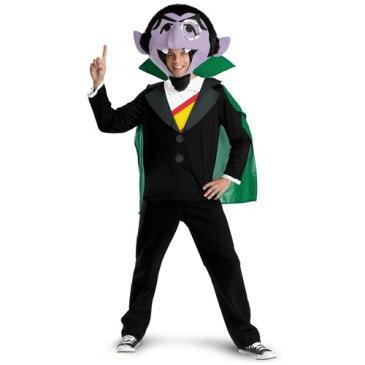 The Count 大人用 男性用 メンズ おもしろい バンパイア 吸血鬼 Sesame Street セサメストリート ハロウィン コスチューム コスプレ 衣装 変装 仮装