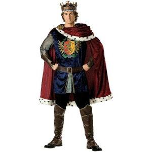【ポイント5倍】King 大人用 男性用 メンズ Medieval Renaissance Arthur クリスマス ハロウィン コスチューム コスプレ 衣装 変装 仮装