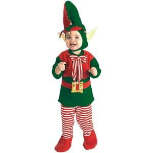 ベイビー ElfInfant/Toddler クリスマス Santa's Lil' HelperOutfit クリスマス ハロウィン コスチューム コスプレ 衣装 変装 仮装
