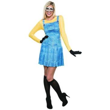 レディス 女性用 Minion 大人用 Minions ハロウィン コスチューム コスプレ 衣装 変装 仮装