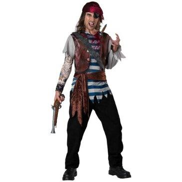 男性用 メンズ Pirate 大人用 Dead Man's Chest おもしろい ハロウィン コスチューム コスプレ 衣装 変装 仮装