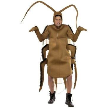 Cockroach 大人用 男性用 メンズ おもしろい Gross Roach Bug ハロウィン コスチューム コスプレ 衣装 変装 仮装