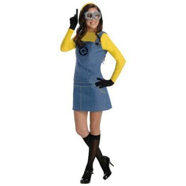 レディス 女性用 Minion 大人用 Despicable Me ハロウィン コスチューム コスプレ 衣装 変装 仮装