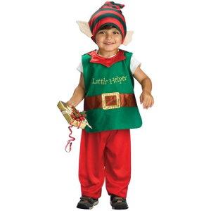 Lil' Elf キッズ 子供用 Santa Claus Helper クリスマス クリスマス ハロウィン コスチューム コスプレ 衣装 変装 仮装