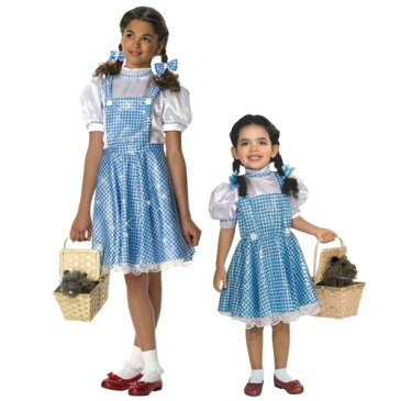 Dorothy キッズ 子供用 /Toddlerオズの魔法使い ハロウィン コスチューム コスプレ 衣装 変装 仮装