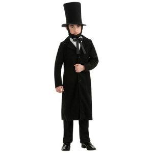 Abraham Lincoln キッズ 子供用 ハロウィン コスチューム コスプレ 衣装 変装 仮装