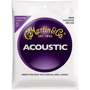 ギター, アコースティックギター  Martin M535 Traditional Phosphor Bronze Light Strings