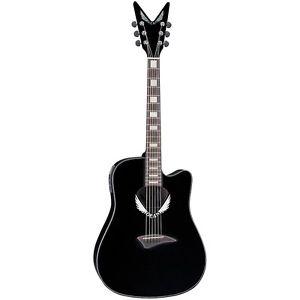ディーンDeanVWingCutawayDreadnoughtAcoustic-エレキギターエレクトリックギターBlack