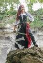 Women's 海賊 パイレーツ Flag Gypsy コスチューム ハロウィン レディース コスプレ 衣装 女性 仮装 女性用 イベント パーティ ハロウィーン 学芸会