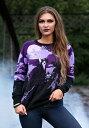 Witch's Moonlight Ride Halloween Sweater ハロウィン レディース コスプレ 衣装 女性 仮装 女性用 イベント パーティ ハロウィーン 学芸会