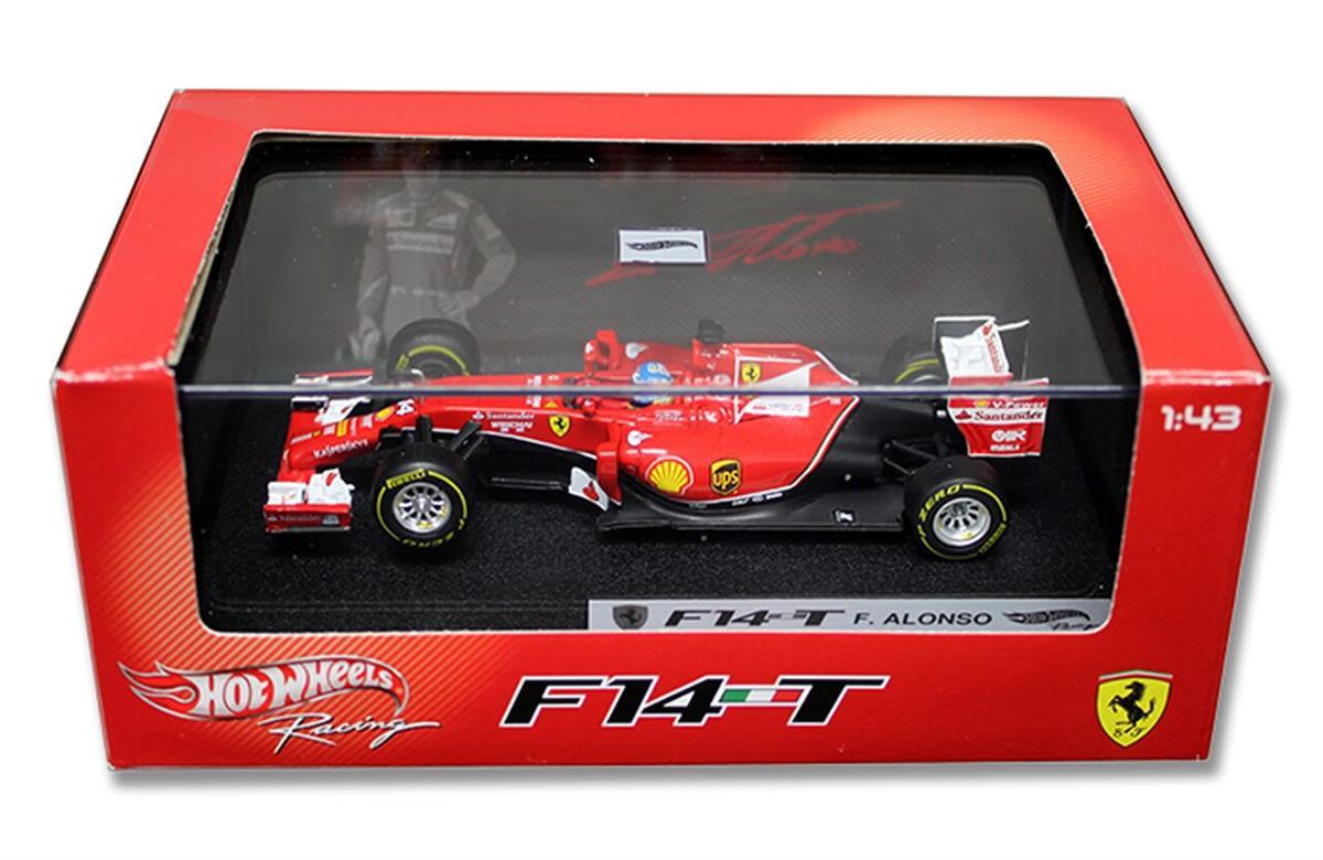 車・バイク, その他 Hot Wheels Hot Wheels 143 Scale F1 Ferrari F 2014 Alonso 143 Scale Diecast Model ...