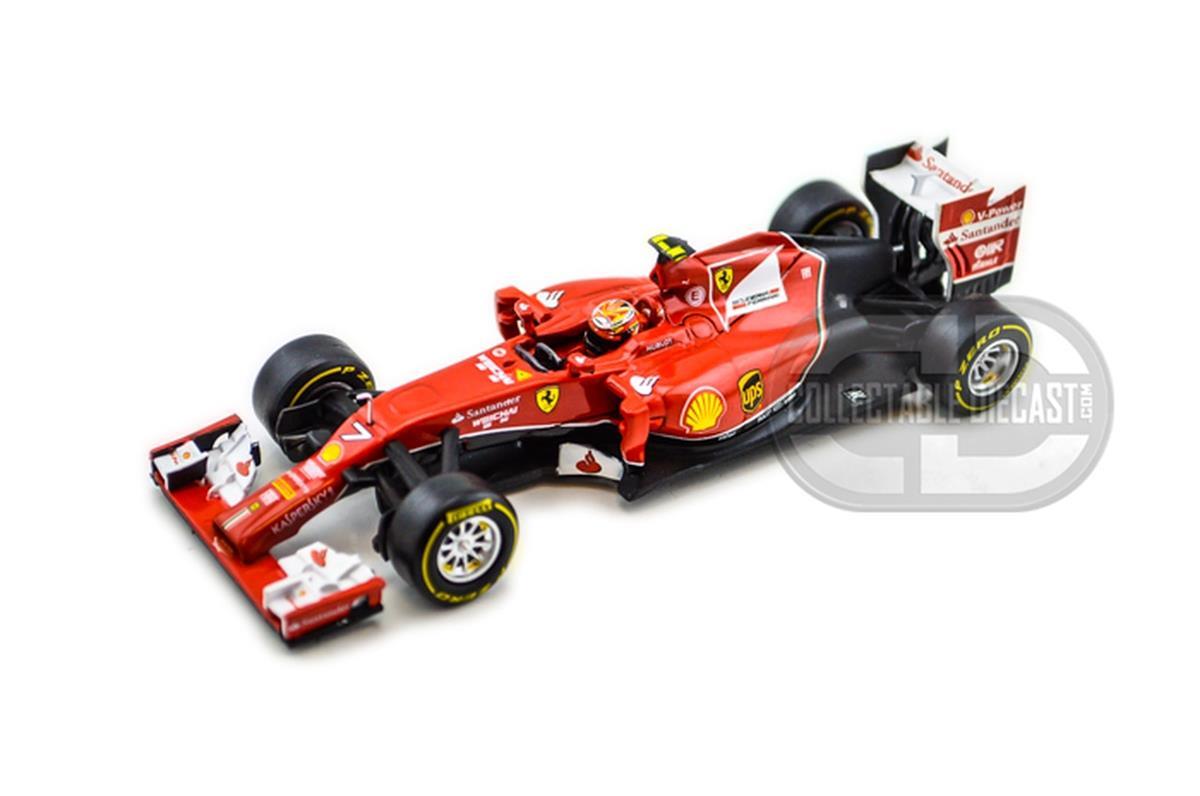 車・バイク, その他 Hot Wheels Hot Wheels 143 Scale F1 Ferrari F 2014 Raikkonen 143 Scale Diecast Model ...
