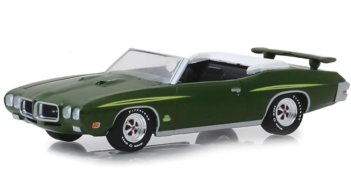 Greenlight Barrett-Jackson 1970 Pontiac ポンティアック GTO Judge Ram Air Convertible 1/64 Scale スケール Diecast Model ダイキャスト ミニカー おもちゃ 玩具 コレクション ミ・...画像