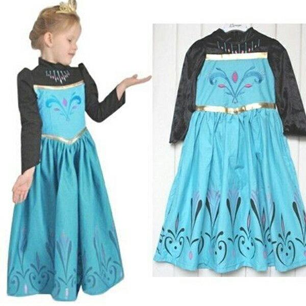 映画 アナ雪 エルサ風 子供用 ドレスコスチューム レディス 女性用 ドレス 衣装 ハロウィン 仮装