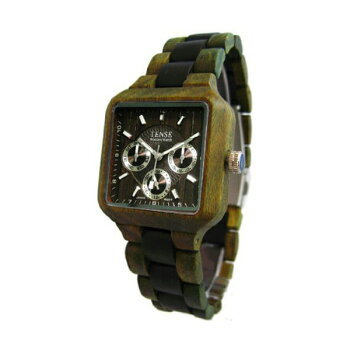 TENSE/テンス木製腕時計/ウッドウォッチナチュラルウッド/メンズ/レディース/B7305GD