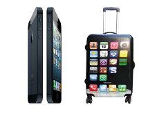 【レビューを書いて送料無料】iPhone型/軽量/スーツケース/Mサイズ/スーツケース/軽量/キャリー...