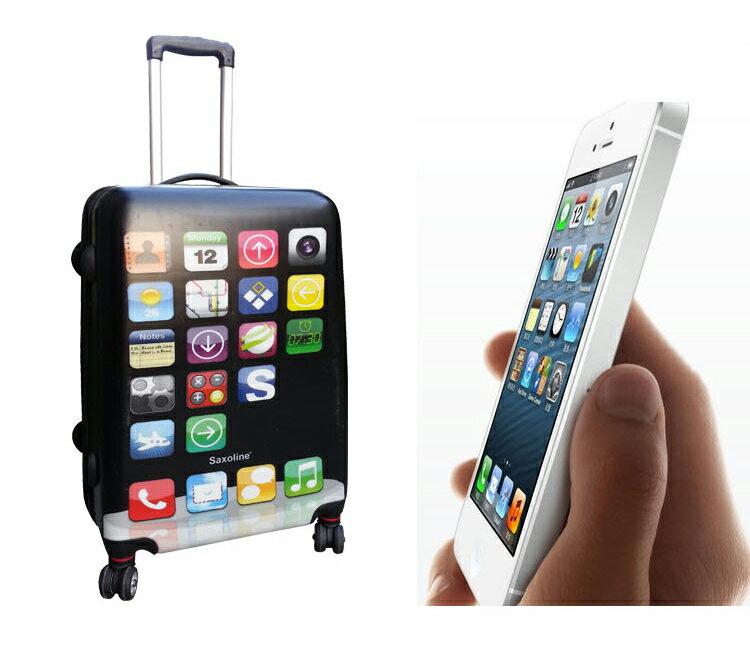 iPhone型コンパクト軽量スーツケース Sサ...の紹介画像2