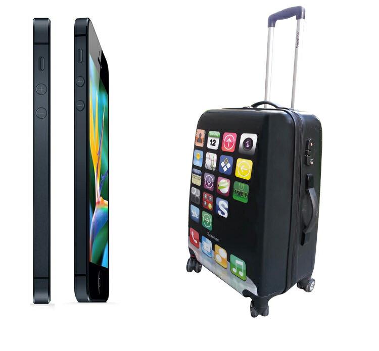 iPhone型コンパクト軽量スーツケース Sサ...の紹介画像3