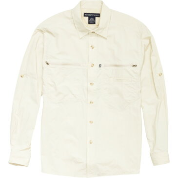 ExOfficio Reef Runner Lite Shirt - Long-Sleeve - Men's Bone アウトドア メンズ 男性用 シャツ Button-Down Shirts
