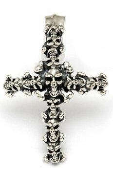 ビルウォールレザー/BWL/BillWallLeather/LargeSkullCrucifix/BillWallUniquePendantNecklaces