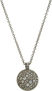 Roberto Marroni Diamond Sand Pendant Necklace