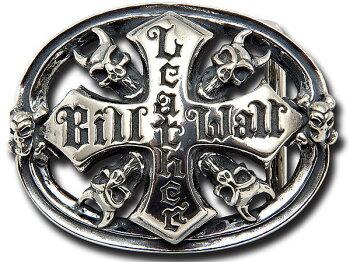ビルウォールレザー/BWL/BillWallLeather/DemonSkullBWLLogo/ベルトバックル